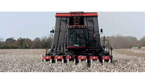 CaseIH Cotton Picker Yield Monitor