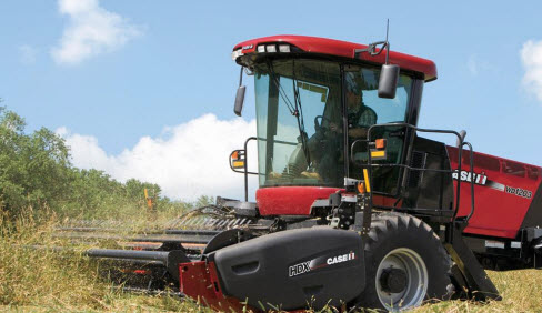 CaseIH Windrower WD1203