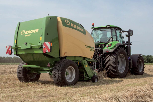 Krone Comprima F 125 for sale at Salem Farm Supply, New York