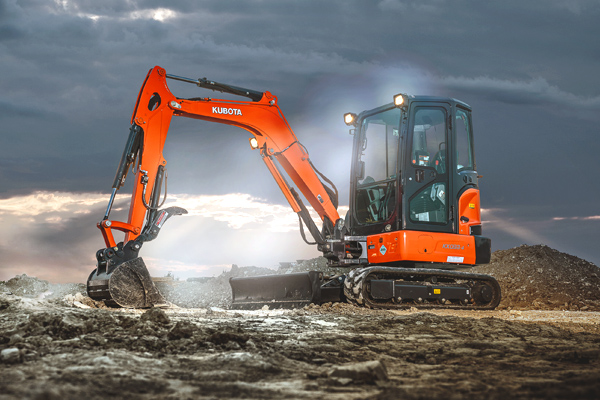Kubota | Construction Equipment | Compact Excavators for sale at Salem Farm Supply, New York