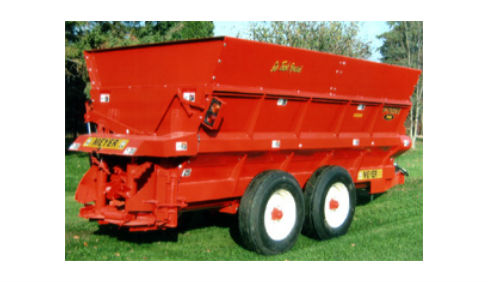 MeyerFE GinTrashSpreader V force 7500