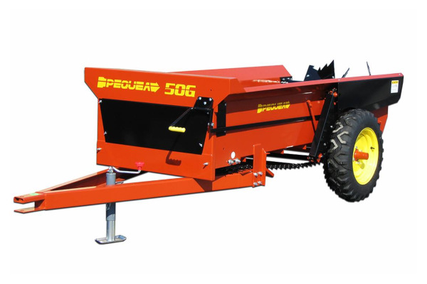 Pequea | Compact Manure Spreaders | Model 50G for sale at Salem Farm Supply, New York