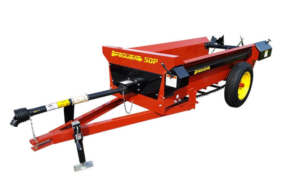 Pequea | Compact Manure Spreaders | Model 50P for sale at Salem Farm Supply, New York