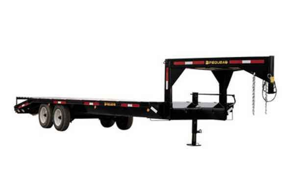 Pequea | Gooseneck Trailers | Model Commercial Deckover for sale at Salem Farm Supply, New York