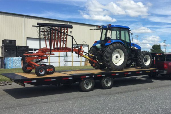 Pequea | Trailers | Deckover Trailers for sale at Salem Farm Supply, New York
