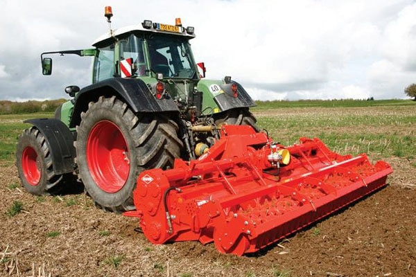 Kuhn EL 282-450 Cultitiller rotor for sale at Salem Farm Supply, New York